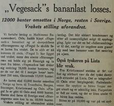 1939.09.11 - SA S02 - Vegesacks bananlast losses