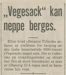 1939.09.09 - BT S09 - Vegesack kan neppe berges